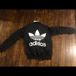 RARE adidas heavy coat/jacket NWT size small